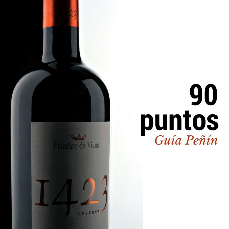 Príncipe de Viana 1423 Reserva 2011 90 puntos Guía Peñín