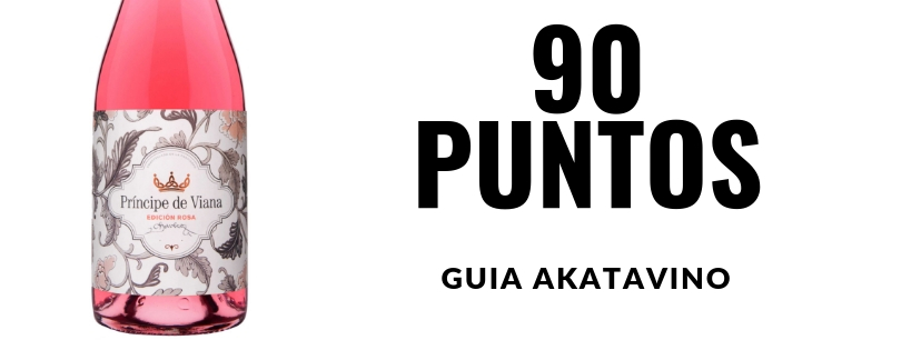 Príncipe de Viana  Edición Rosa 2017  91 puntos  Guía  Akatavino