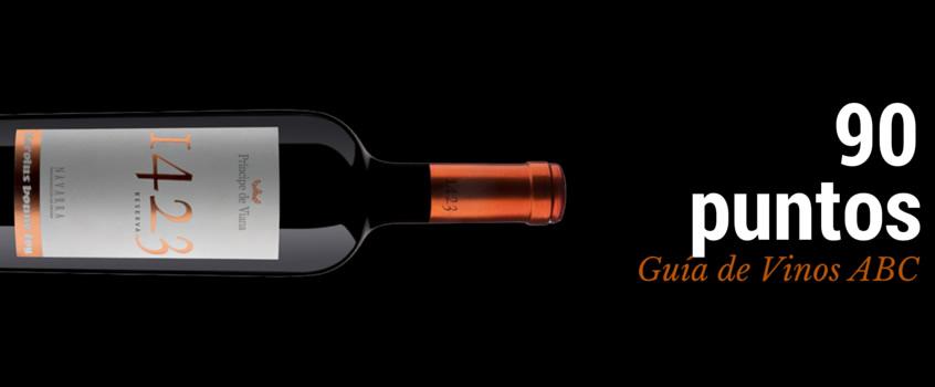 Príncipe de Viana 1423 Reserva 2011 obtiene 90 puntos en la Guía de Vinos ABC