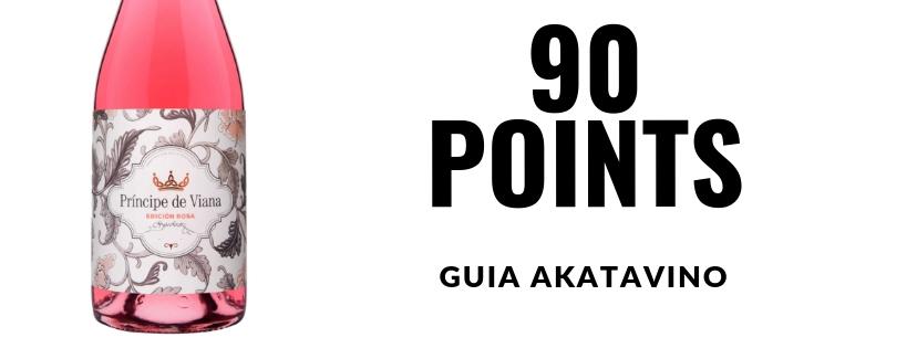 Príncipe de Viana  Edición Rosa 2017  91 points  Guía  Akatavino