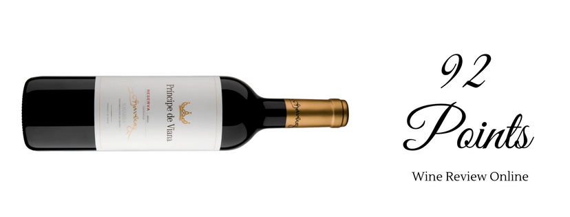 Príncipe de Viana Reserva 92 points Wine Review Online