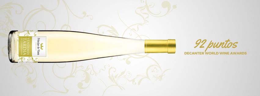 Príncipe de Viana Vendimia Tardía 2013 92 puntos Decanter World Wine Awards