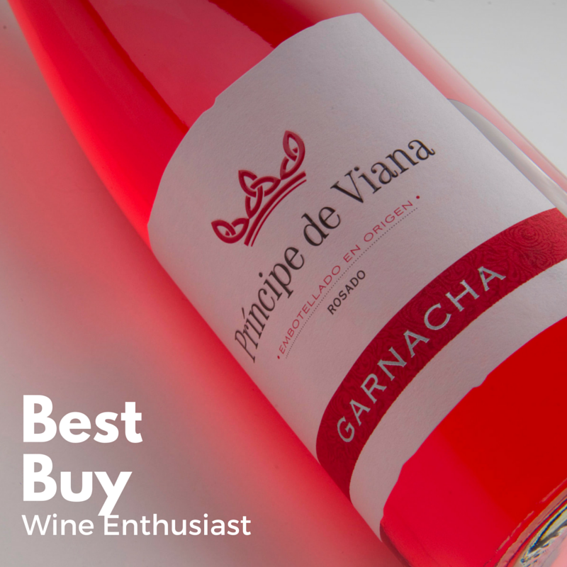 Príncipe de Viana Rosado Garnacha Best Buy Wine Enthusiast