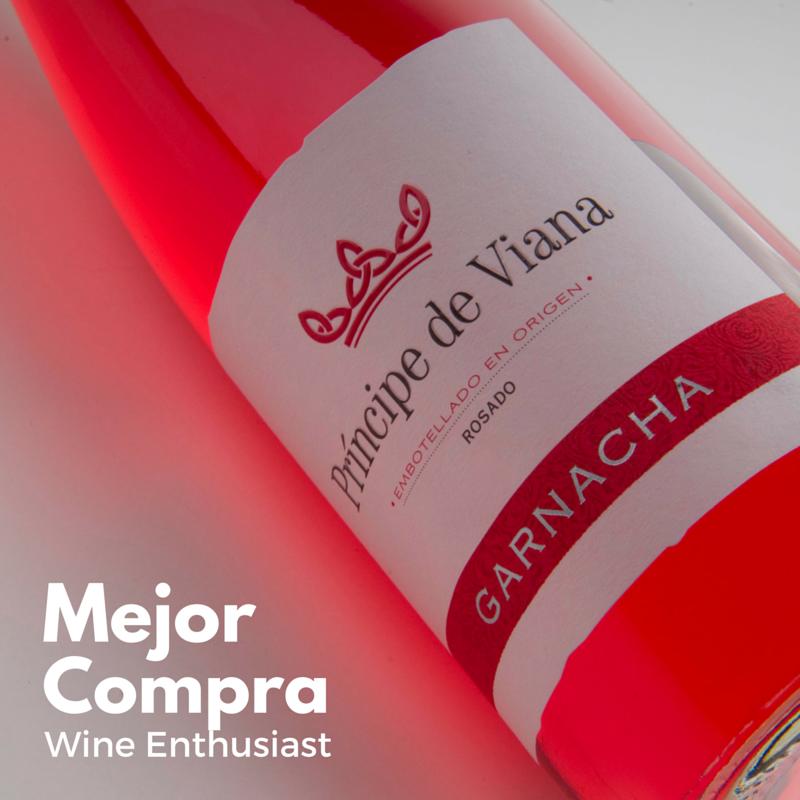 Príncipe de Viana Rosado Garnacha Mejor Compra Wine Enthusiast
