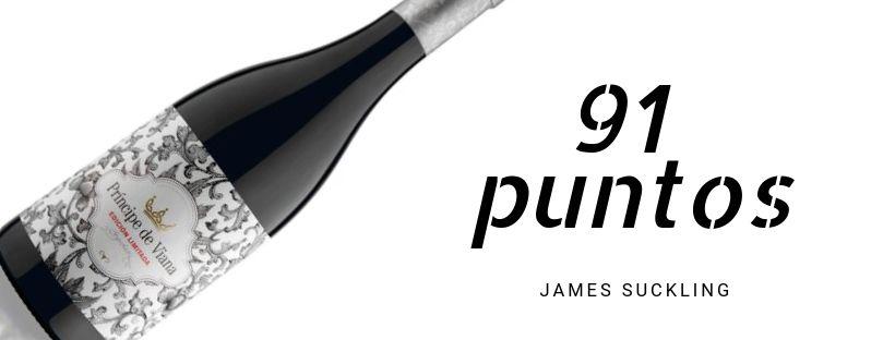 Príncipe de Viana Edición Limitada 2015 91 puntos James Suckling