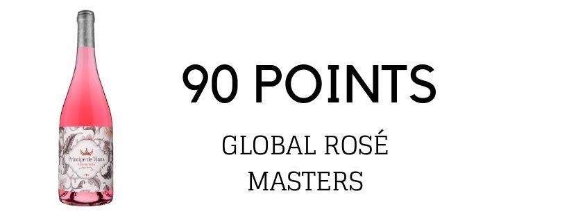 Príncipe de Viana Edición Rosa 2018 91 points THE DRINKS BUSINESS GLOBAL ROSÉ MASTERS
