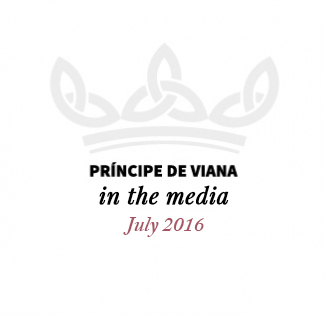 Príncipe de Viana in the media / July 2016