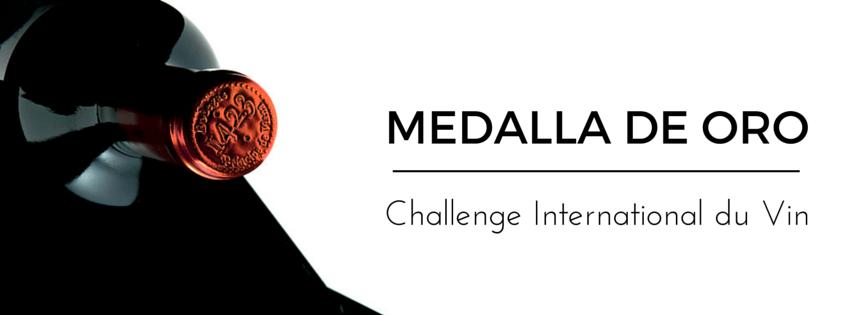 Príncipe de Viana Reserva 1423 medalla de oro en el Challenge International du Vin