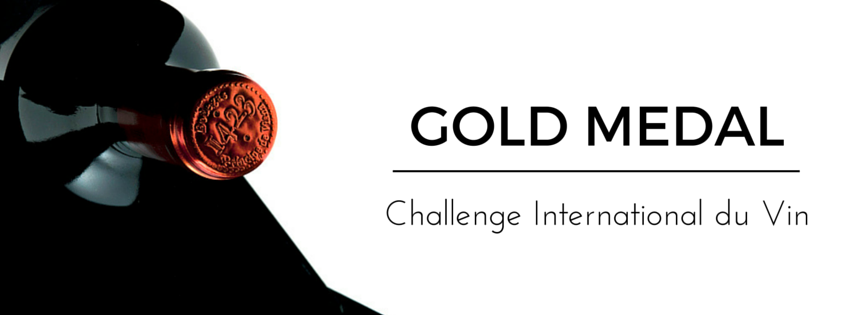 Príncipe de Viana Reserva 1423 gold medal Challenge International du Vin