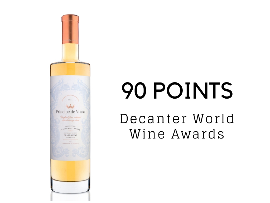 Príncipe de Viana Vendimia Tardía 2017 90 points Decanter World Wine Awards