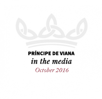 Príncipe de Viana in the media / October 2016