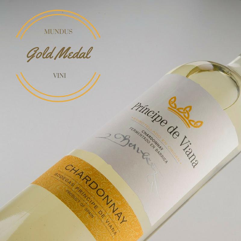 Príncipe de Viana Chardonnay Gold Medal Mundus Vini