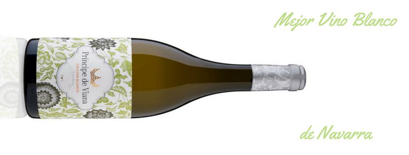 Príncipe de Viana Edición Blanca 2016  Mejor Vino Blanco de Navarra