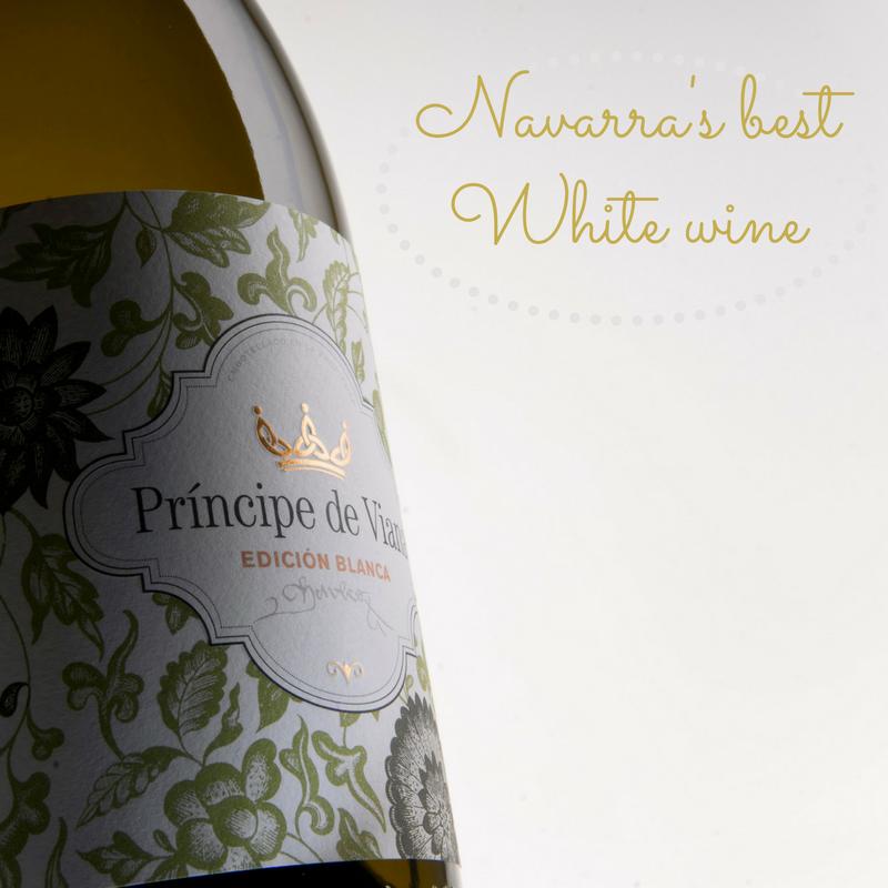 Príncipe de Viana Edición Blanca 2016  Navarra's Best White Wine