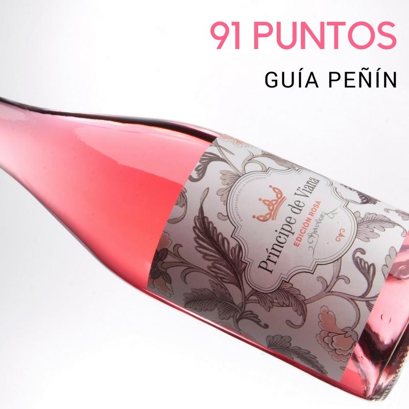 Príncipe de Viana Edición Rosa 2016, 91 puntos Guía Peñín