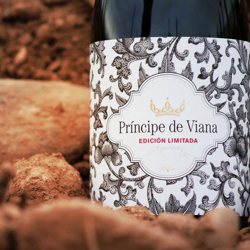 Príncipe de Viana Edición Limitada Medalla de Oro Mundus Vini