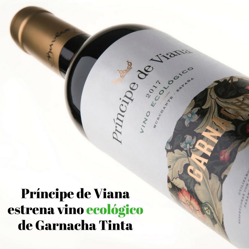 Príncipe de Viana launches ORGANIC Garnacha Tinta wine