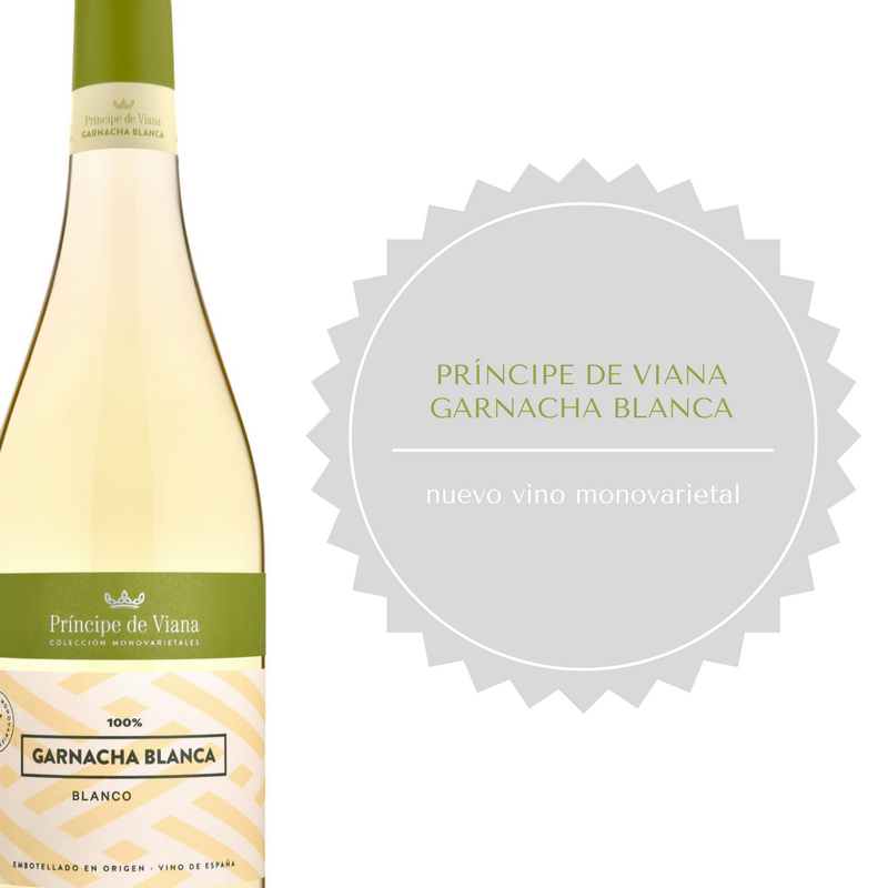 Príncipe de Viana estrena nuevo vino de Garnacha Blanca