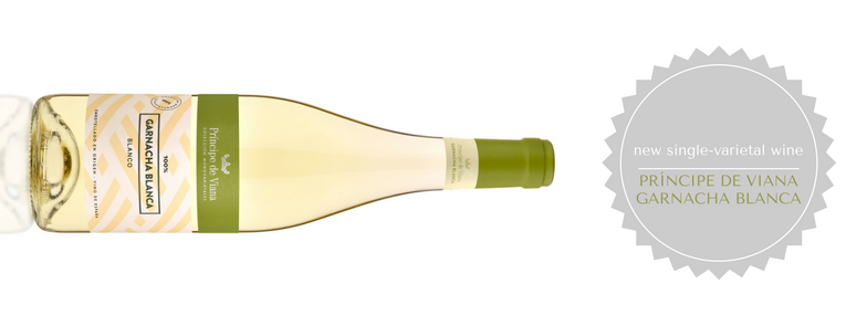 Introducing the new Príncipe de Viana Garnacha Blanca