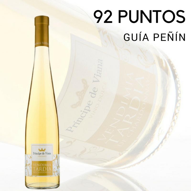 Príncipe de Viana Vendimia Tardía 2014, 92 puntos Guía Peñín
