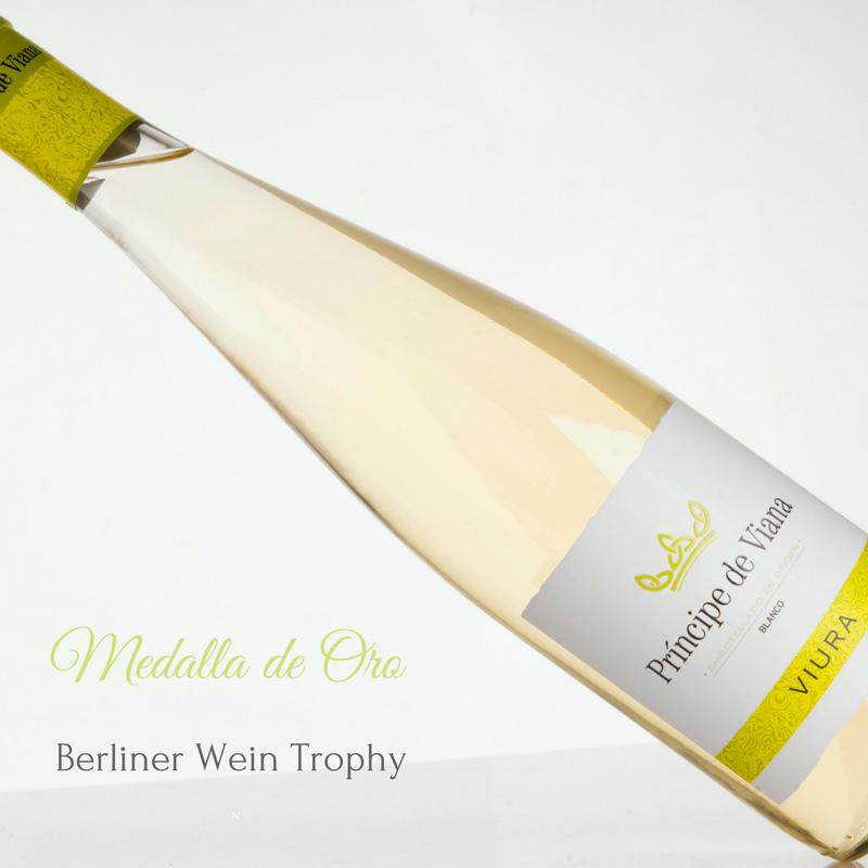 Príncipe de Viana Viura Medalla de Oro Berliner Wein Trophy