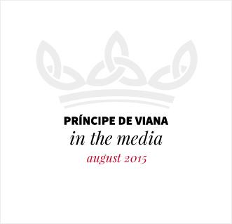 Príncipe de Viana in the media / August 2015