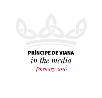 Príncipe de Viana in the media / February 2016