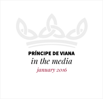 Príncipe de Viana in the media / January 2016