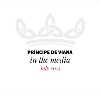Príncipe de Viana in the media / July 2015