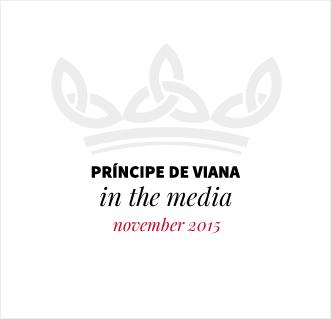 Príncipe de Viana in the media / November 2015