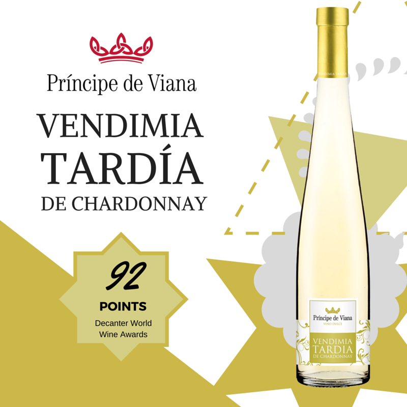 Príncipe de Viana Vendimia Tardía 2013 92 points Decanter World Wine Awards