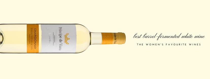Príncipe de Viana Chardonnay, best barrel-fermented white wine