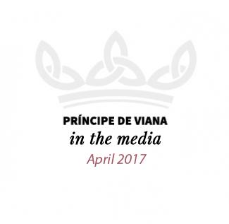 Príncipe de Viana en los medios / April 2017