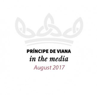 Príncipe de Viana in the media / August 2017