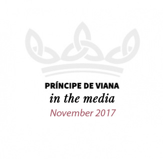 Príncipe de Viana in the media / November 2017