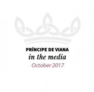 Príncipe de Viana in the media / October 2017