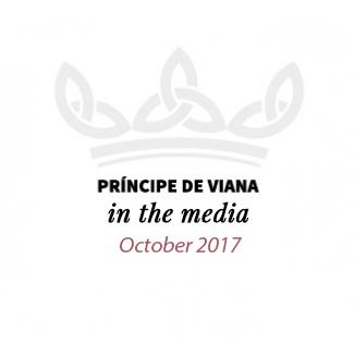 Príncipe de Viana in the media / October 2017