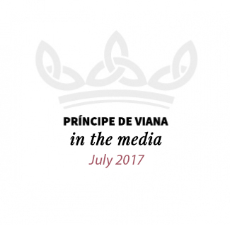 Príncipe de Viana in the media / July 2017