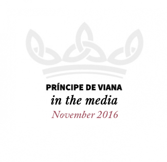 Príncipe de Viana in the media / November 2016