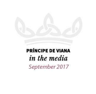 Príncipe de Viana in the media / September 2017