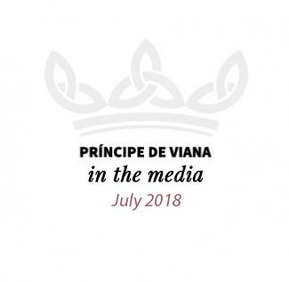 Príncipe de Viana in the media / July 2018