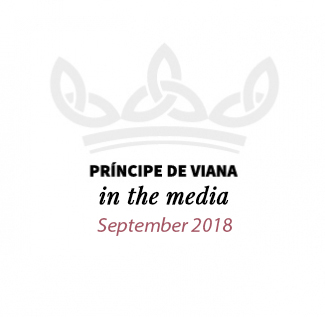 Príncipe de Viana in the media / September 2018