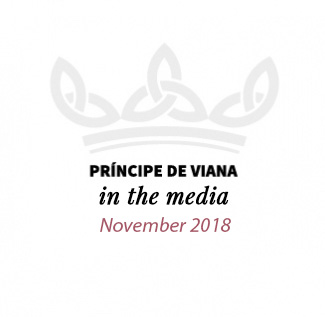 Príncipe de Viana in the media / November 2018