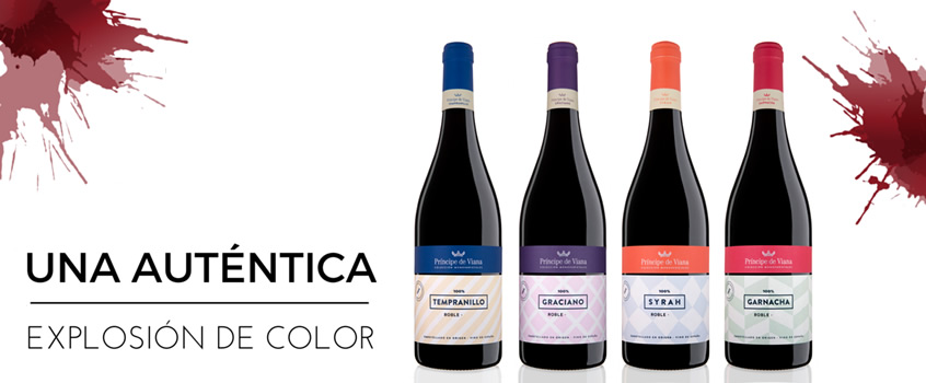 Príncipe de Viana renews its single-varietal wines