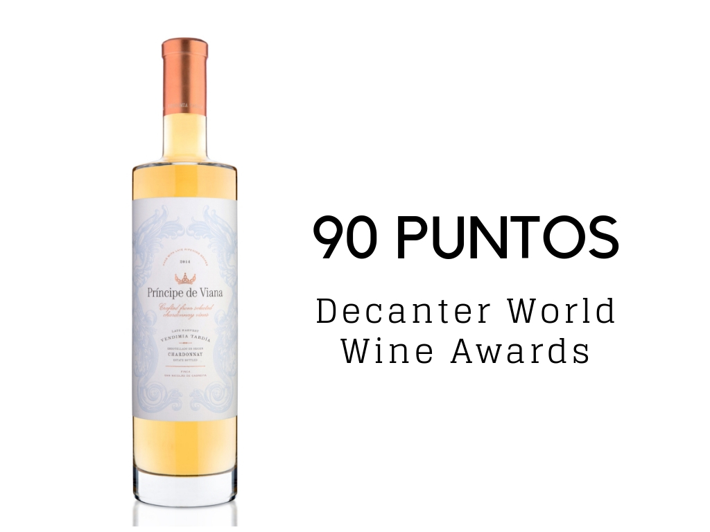 Príncipe de Viana Vendimia Tardía 2017 90 puntos Decanter World Wine Awards