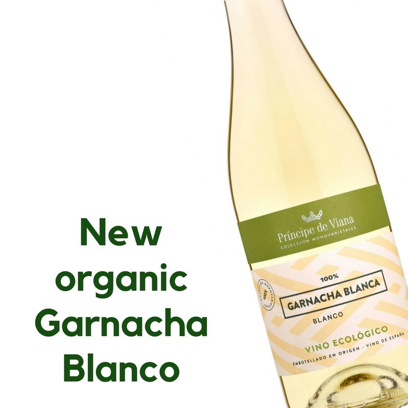 Príncipe de Viana launches an ORGANIC Garnacha Blanca wine