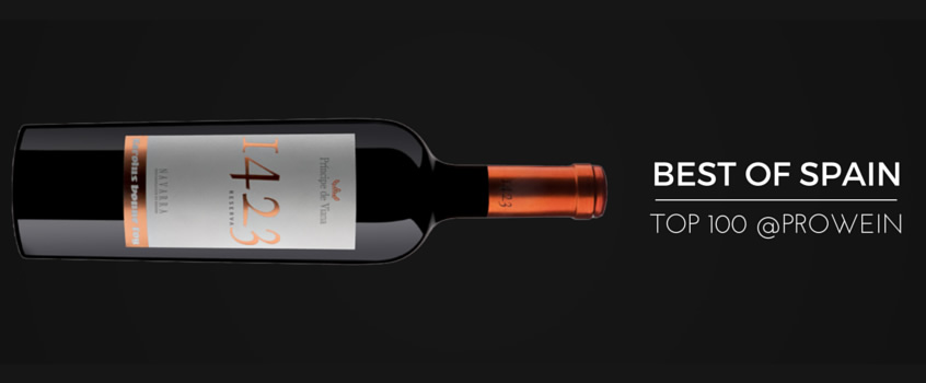 Príncipe de Viana 1423 Reserva 2010 Best of Spain Top100@Prowein