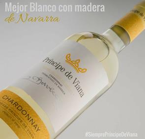 Príncipe de Viana Chardonnay Mejor Blanco con Madera de Navarra