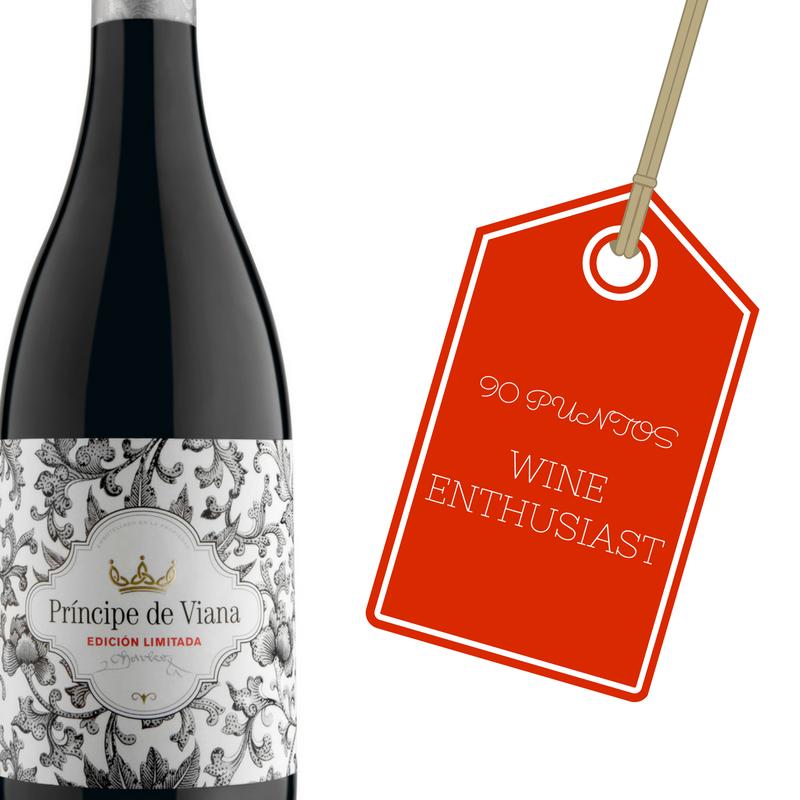 Príncipe de Viana Edición Limitada 2013, 90 puntos Wine Enthusiast
