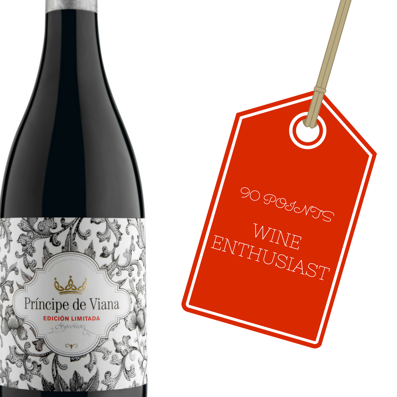 Príncipe de Viana Edición Limitada 2013 90 points Wine Enthusiast